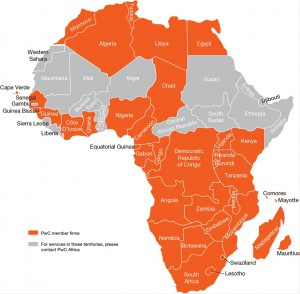 PwC Africa Office Map4